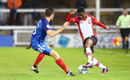 Nathan Tella during the Check a Trade Trophy group stage match between Peterborough United and Southampton FC U21, at ABAX Stadium, Peterborough, 29th August 2017