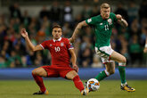 Tadić's Serbia edge Ireland clash
