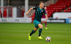 WALSALL, ENGLAND - SEPTEMBER 11: Callum Slattery during the Premier League 2 match between Aston Villa and Southampton, at Banks' Stadium on September 11, 2017 in Walsall, England. (Photo by Matt Watson/Southampton FC via Getty Images)