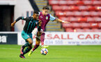 WALSALL, ENGLAND - SEPTEMBER 11: Nathan Tella during the Premier League 2 match between Aston Villa and Southampton, at Banks' Stadium on September 11, 2017 in Walsall, England. (Photo by Matt Watson/Southampton FC via Getty Images)