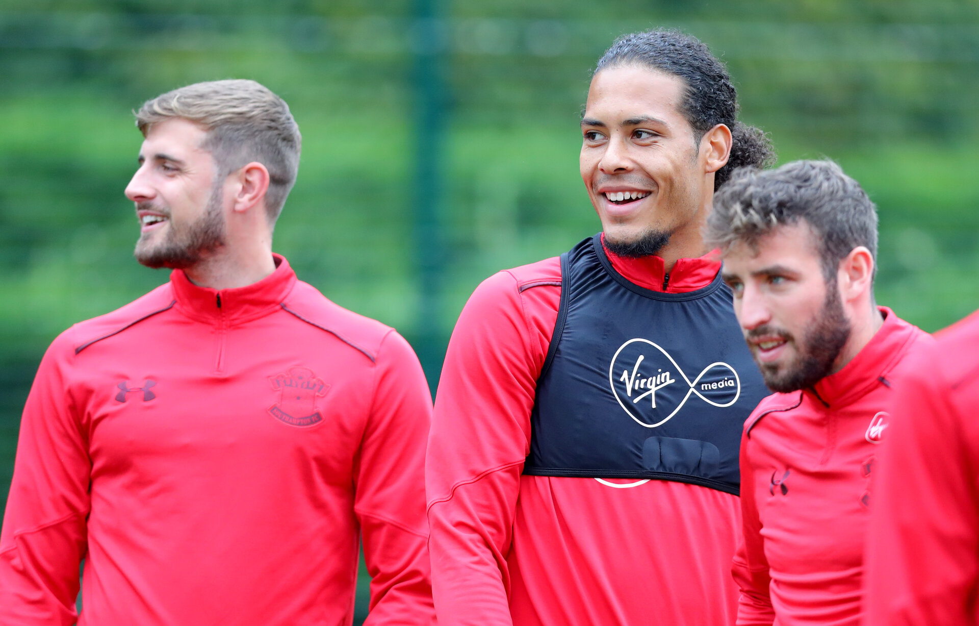 SOUTHAMPTON, ENGLAND - SEPTEMBER 21: Virgil Van Dijk during a Southampton FC training session at the Staplewood Campus on September 21, 2017 in Southampton, England. (Photo by Matt Watson/Southampton FC via Getty Images)