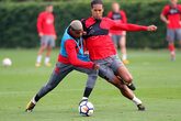 Gallery: Tuesday training ahead of Stoke