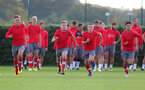 SOUTHAMPTON, ENGLAND - SEPTEMBER 28: Academy players during a Southampton FC training session at the Staplewood Campus on September 28, 2017 in Southampton, England. (Photo by Matt Watson/Southampton FC via Getty Images)