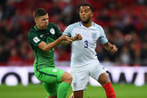 Bertrand helps England seal finals spot