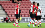 SOUTHAMPTON, ENGLAND - OCTOBER 16: Southampton's Sam McQueen celebrates his second goal of the game during the Premier League 2 match between Southampton U23 and Newcastle United U23, at St Mary's Stadium on October 16, 2017 in Southampton, England. (Photo by Matt Watson/Southampton FC via Getty Images)