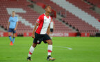 SOUTHAMPTON, ENGLAND - OCTOBER 16: Southampton's Tyreke Johnson celebrates his goal during the Premier League 2 match between Southampton U23 and Newcastle United U23, at St Mary's Stadium on October 16, 2017 in Southampton, England. (Photo by Matt Watson/Southampton FC via Getty Images)