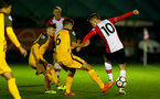 SOUTHAMPTON, ENGLAND - OCTOBER 30: Jake Hesketh (right) during the U23's match between Southampton and Brighton & Hove Albion at Staplewood Campus on October 30, 2017 in Southampton, England. (Photo by James Bridle/Southampton FC via Getty Images)