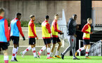 SOUTHAMPTON, ENGLAND - OCTOBER 30: Southampton Players and U23Õs Coach Radhi Jaidi ahead of the U23's match between Southampton and Brighton & Hove Albion at Staplewood Campus on October 30, 2017 in Southampton, England. (Photo by James Bridle/Southampton FC via Getty Images) SOUTHAMPTON, ENGLAND - OCTOBER 30: Southampton Players and U23's Coach Radhi Jaidi ahead of the U23's match between Southampton and Brighton & Hove Albion at Staplewood Campus on October 30, 2017 in Southampton, England. (Photo by James Bridle/Southampton FC via Getty Images)