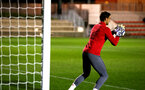 SOUTHAMPTON, ENGLAND - OCTOBER 30: Alex McCarty during training ahead of the U23's match between Southampton and Brighton & Hove Albion at Staplewood Campus on October 30, 2017 in Southampton, England. (Photo by James Bridle/Southampton FC via Getty Images)