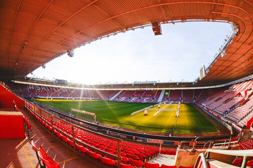 SOUTHAMPTON, ENGLAND - NOVEMBER 17: General View of St Marys Stadium on November 17, 2017 in Southampton, England. (Photo by James Bridle - Southampton FC/Southampton FC via Getty Images)