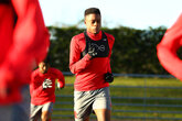 Saints youngsters in international action