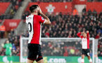 SOUTHAMPTON, ENGLAND - DECEMBER 13: Southampton's Charlie Austin dejected during the Premier League match between Southampton and Leicester City at St Mary's Stadium on December 13, 2017 in Southampton, England. (Photo by Matt Watson/Southampton FC via Getty Images)