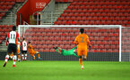 SOUTHAMPTON, ENGLAND - DECEMBER 14: SouthamptonÕs Goal Keeper Alex Cull leaps for the ball, during the match between Southampton FC vs Wolverhampton Wanders for the FA U18's Youth Cup on December 14, 2017 in Southampton, England. (Photo by James Bridle - Southampton FC/Southampton FC via Getty Images) SOUTHAMPTON, ENGLAND - DECEMBER 14: Southampton's Goal Keeper Jack Rose leaps for the ball, during the match between Southampton FC vs Wolverhampton Wanders for the FA U18's Youth Cup on December 14, 2017 in Southampton, England. (Photo by James Bridle - Southampton FC/Southampton FC via Getty Images)
