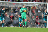 Video: McCarthy enjoys Old Trafford clean sheet