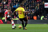 Ward-Prowse at the double but Watford fight back