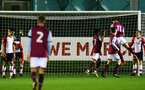 Aston Villa players celebrate thier opening goal during the U23 Premier League 2 match between Southampton and Aston Villa, 15th January 2018, pic by James Bridle