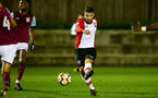 Sam McQueen of Southampton shoots and scores during the U23 Premier League 2 match between Southampton and Aston Villa, 15th January 2018, pic by James Bridle