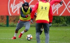 Sofiane Boufal of Southampton FC during a training session at the Staplewood Campus, Southampton, 23rd January 2018