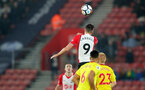 SOUTHAMPTON, ENGLAND - JANUARY 27: Guido Carrillo of Southampton FC during the FA Cup 4th round match between Southampton FC and Watford, at St Mary's Stadium on January 27, 2018 in Southampton, England. (Photo by Matt Watson/Southampton FC via Getty Images)