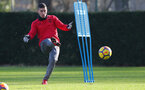 SOUTHAMPTON, ENGLAND - JANUARY 30: Jeremy Pied of Southampton FC during a training session at the Staplewood Campus on January 30, 2018 in Southampton, England. (Photo by Matt Watson/Southampton FC via Getty Images)