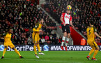 SOUTHAMPTON, ENGLAND - JANUARY 31: Jack Stephens of Southampton FC during the Premier League match between Southampton and Brighton and Hove Albion at St Mary's Stadium on January 31, 2018 in Southampton, England. (Photo by Matt Watson/Southampton FC via Getty Images)