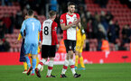SOUTHAMPTON, ENGLAND - JANUARY 31: Wesley Hoedt of Southampton FC during the Premier League match between Southampton and Brighton and Hove Albion at St Mary's Stadium on January 31, 2018 in Southampton, England. (Photo by Matt Watson/Southampton FC via Getty Images)