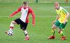 Kornelius Hansen during the U18 PL match between Southampton and Norwich City, pictured at the Staplewood Campus, Southampton, 10th February 2018