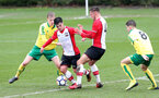 Sean Brennan during the U18 PL match between Southampton and Norwich City, pictured at the Staplewood Campus, Southampton, 10th February 2018
