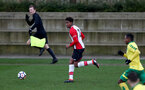 Kayne Ramsay during the U18 PL match between Southampton and Norwich City, pictured at the Staplewood Campus, Southampton, 10th February 2018