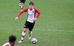 Dan Bartlett during the U18 PL match between Southampton and Norwich City, pictured at the Staplewood Campus, Southampton, 10th February 2018