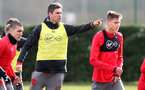 SOUTHAMPTON, ENGLAND - FEBRUARY 15: Mauricio Pellegrino during a Southampton FC training session at the Staplewood Campus on February 15, 2018 in Southampton, England. (Photo by Matt Watson/Southampton FC via Getty Images)