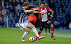 WEST BROMWICH, ENGLAND - FEBRUARY 17: Nathan Redmond(R) of Southampton and Craig Dawson(L) of West Bromwich Albion during the Emirates FA Cup fifth round match between West Bromwich Albion and Southampton at The Hawthorns on February 17, 2018 in West Bromwich, England. (Photo by Matt Watson/Southampton FC via Getty Images)