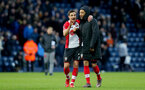 WEST BROMWICH, ENGLAND - FEBRUARY 17: Cedric(L) and Nathan Redmond of Southampton during the Emirates FA Cup fifth round match between West Bromwich Albion and Southampton at The Hawthorns on February 17, 2018 in West Bromwich, England. (Photo by Matt Watson/Southampton FC via Getty Images)