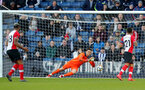 WEST BROMWICH, ENGLAND - FEBRUARY 17: Alex McCarthy of Southampton saves during the Emirates FA Cup fifth round match between West Bromwich Albion and Southampton at The Hawthorns on February 17, 2018 in West Bromwich, England. (Photo by Matt Watson/Southampton FC via Getty Images)