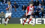 WEST BROMWICH, ENGLAND - FEBRUARY 17: Pierre-Emile Hojbjerg of Southampton during the Emirates FA Cup fifth round match between West Bromwich Albion and Southampton at The Hawthorns on February 17, 2018 in West Bromwich, England. (Photo by Matt Watson/Southampton FC via Getty Images)
