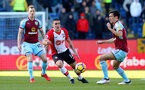 BURNLEY, ENGLAND - FEBRUARY 24: Oriol Romeu of Southampton during the Premier League match between Burnley and Southampton at Turf Moor on February 24, 2018 in Burnley, England. (Photo by Matt Watson/Southampton FC via Getty Images)