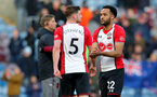 BURNLEY, ENGLAND - FEBRUARY 24: Nathan Redmond of Southampton during the Premier League match between Burnley and Southampton at Turf Moor on February 24, 2018 in Burnley, England. (Photo by Matt Watson/Southampton FC via Getty Images)