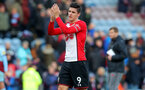 BURNLEY, ENGLAND - FEBRUARY 24: Guido Carrillo of Southampton during the Premier League match between Burnley and Southampton at Turf Moor on February 24, 2018 in Burnley, England. (Photo by Matt Watson/Southampton FC via Getty Images)