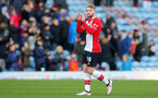 BURNLEY, ENGLAND - FEBRUARY 24: Josh Sims of Southampton during the Premier League match between Burnley and Southampton at Turf Moor on February 24, 2018 in Burnley, England. (Photo by Matt Watson/Southampton FC via Getty Images)