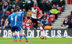SOUTHAMPTON, ENGLAND - MARCH 03: Mario Lemina of Southampton during the Premier League match between Southampton and Stoke City at St Mary's Stadium on March 3, 2018 in Southampton, England. (Photo by Matt Watson/Southampton FC via Getty Images)