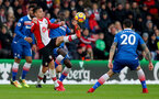 SOUTHAMPTON, ENGLAND - MARCH 03: Dusan Tadic of Southampton during the Premier League match between Southampton and Stoke City at St Mary's Stadium on March 3, 2018 in Southampton, England. (Photo by Matt Watson/Southampton FC via Getty Images)