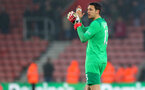 SOUTHAMPTON, ENGLAND - MARCH 03: Alex McCarthy of Southampton during the Premier League match between Southampton and Stoke City at St Mary's Stadium on March 3, 2018 in Southampton, England. (Photo by Matt Watson/Southampton FC via Getty Images)