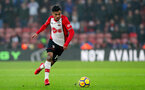 SOUTHAMPTON, ENGLAND - MARCH 03: Sofiane Boufal of Southampton during the Premier League match between Southampton and Stoke City at St Mary's Stadium on March 3, 2018 in Southampton, England. (Photo by Matt Watson/Southampton FC via Getty Images)