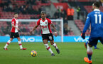 SOUTHAMPTON, ENGLAND - MARCH 03: Mario Lemina of Southampton during the Premier League match between Southampton and Stoke City at St Mary's Stadium on March 3, 2018 in Southampton, England. (Photo by Chris Moorhouse/Southampton FC via Getty Images)