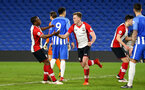 SOUTHAMPTON, ENGLAND - MARCH 05: Armani LIttle Scores for Southampton FC during the PL2 U23's match between Brighton & Hove Albion FC and Southampton FC at American Express Community Stadium on March 5, 2018 in Southampton, England. (Photo by James Bridle - Southampton FC/Southampton FC via Getty Images)