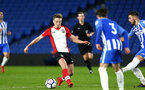 SOUTHAMPTON, ENGLAND - MARCH 05: Armani LIttle (left) during the PL2 U23's match between Brighton & Hove Albion FC and Southampton FC at American Express Community Stadium on March 5, 2018 in Southampton, England. (Photo by James Bridle - Southampton FC/Southampton FC via Getty Images)