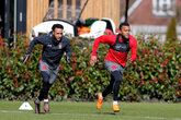 Gallery: Saints get set for Newcastle