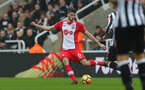 NEWCASTLE UPON TYNE, ENGLAND - MARCH 10: Wesley Hoedt of Southampton FC during the Premier League match between Newcastle United and Southampton at St. James Park on March 10, 2018 in Newcastle upon Tyne, England. (Photo by Matt Watson/Southampton FC via Getty Images)