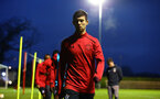 SOUTHAMPTON, ENGLAND - MARCH 12: Thomas OÕConnor ahead of the PL2 match between Southampton FC and Norwich City FC at Staplewood Training Ground on March 12, 2018 in Southampton, England. (Photo by James Bridle - Southampton FC/Southampton FC via Getty Images) SOUTHAMPTON, ENGLAND - MARCH 12: Thomas O'Connor ahead of the PL2 match between Southampton FC and Norwich City FC at Staplewood Training Ground on March 12, 2018 in Southampton, England. (Photo by James Bridle - Southampton FC/Southampton FC via Getty Images)