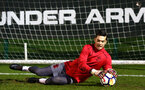 SOUTHAMPTON, ENGLAND - MARCH 12: Kingsley Latham ahead of the PL2 match between Southampton FC and Norwich City FC at Staplewood Training Ground on March 12, 2018 in Southampton, England. (Photo by James Bridle - Southampton FC/Southampton FC via Getty Images)